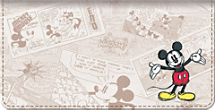 Sketch Book Mickey Checkbook Cover