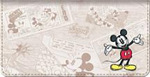 Sketch Book Mickey Checkbook Cover
