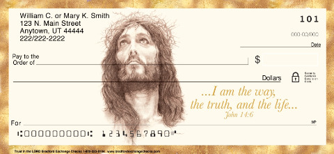 Trust in the Lord Personal Checks