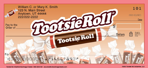 Tootsie Roll(R) Personal Checks