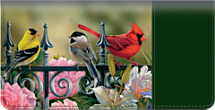Songbirds Checkbook Cover