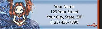 Mystic World Return Address Label