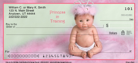 Cute As Can Be Baby Dolls Personal Checks