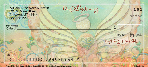 Angels of the Heart Personal Checks
