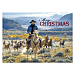 Cowboy Round Up Personalized Holiday Cards