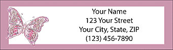 On The Wings of Hope Return Address Label