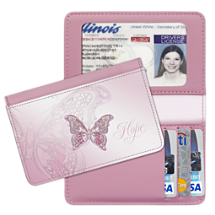 On The Wings of Hope - Debit & Credit Card Holder