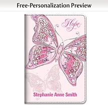 Hope Grows and Spirits Soar Across the Pages of this Breast Cancer Support Notebook