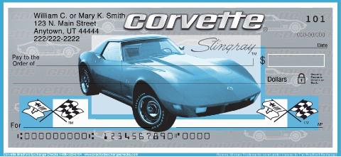 Corvette Personal Checks