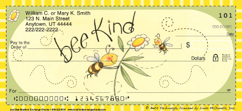 Just Bee Personal Checks
