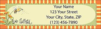 Just Bee Return Address Label