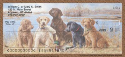 Labrador Retriever Hunting Buddies Personal Checks