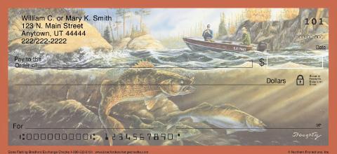 Gone Fishing Personal Checks