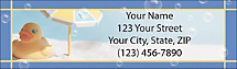 Rubber Ducky Address Labels