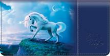 Unicorn Checkbook Cover
