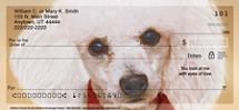 Faithful Friends - Poodle Personal Checks