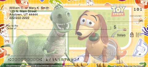 Disney Pixar Toy Story Personal Checks