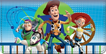 Disney Pixar Toy Story Checkbook Cover