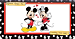 Mickey Loves Minnie Checkbook Cover