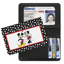 Mickey Loves Minnie Debit and Credit Card Holder