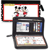 Mickey Loves Minnie Wallet