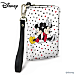 Disney Mickey Loves Minnie Small Wristlet Purse