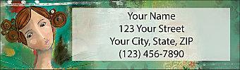 Celebrate Yourself Return Address Label