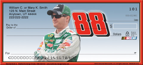 Dale Jr. Personal Checks