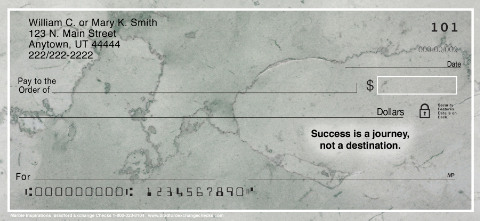 Marble Inspirations Personal Checks