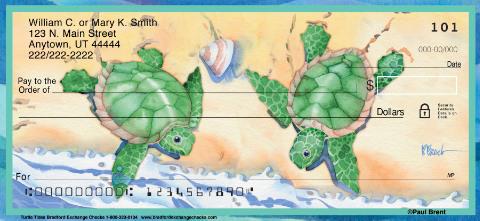 Turtle Tides Personal Checks
