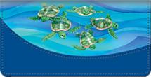 Turtle Tides Checkbook Cover