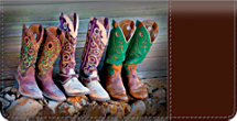 Cowboy Boots Checkbook Cover