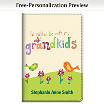 Grandkids Not Only Rule, They Inspire You to Write About Them in this Cheerful Artwork Notebook