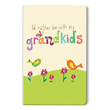 Save Special Grandparent Moments in a Notebook with Artwork as Fun as You!