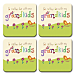 Grandkids Rule! Coaster Set