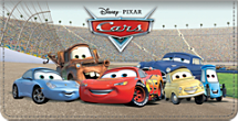 Disney Pixar Cars Checkbook Cover