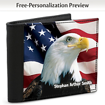 American Pride Pairs Up with ID Protection to Create One Exceptional Leather-Accented Wallet