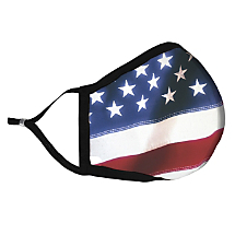 Patriotic Face Mask Gallantly Honors the Land of the Free while Protecting the Ones You Love
