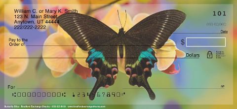 Butterfly Bliss Personal Checks