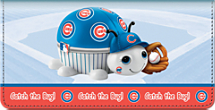 (R)MLB(R) Chicago Cubs(R) - Catch the Bug! Checkbook Cover