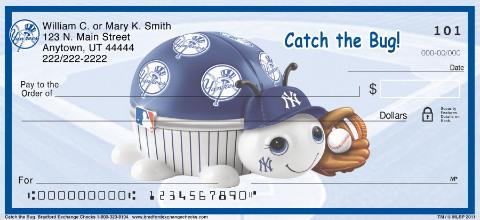 (R)MLB(R) New York Yankees(R) - Catch the Bug! Personal Checks