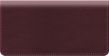 Burgundy Classic Value Checkbook Cover