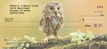 Baby Owls Personal Checks