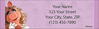 The Muppets Return Address Label