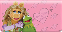 Miss Piggy Leather Cover