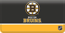 Boston Bruins National Hockey League Checkbook Cover