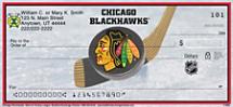 Chicago Blackhawks National Hockey League Personal Checks