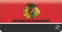 Chicago Blackhawks National Hockey League Checkbook Cover