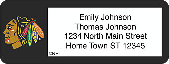 Chicago Blackhawks® NHL® Return Address Label