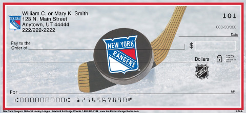New York Rangers National Hockey League Personal Checks